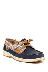 Sperry Ivyfish Striped Boat Shoe Blue