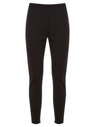 Mint Velvet Ponte Leggings Black
