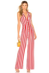 House Of Harlow X Revolve Marjorie Jumpsuit Red