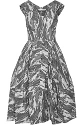 Antonio Berardi Jacquard Dress Black