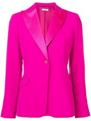 P.A.R.O.S.H. Single Breasted Blazer Pink