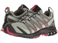 Salomon Xa Pro 3D Gtx Shadow Black Sangria Women's Shoes Gray