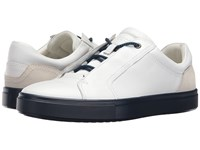 Ecco Kyle Street Sneaker White Shadow White Men's Lace Up Casual Shoes Black