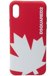 Dsquared2 Maple Leaf Iphone X Cover