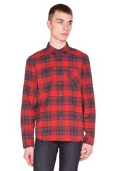 Ag Adriano Goldschmied Nimbus Shirt Red