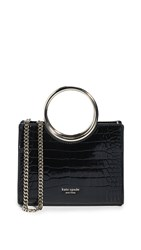 Kate Spade New York Sam Bracelet Mini Satchel Bag Black