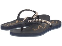 Rocket Dog Portia Navy You Fancy Women's Sandals Gold