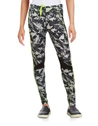 Y.A.S Geometric Athletic Pants Yellow