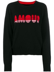 Zadig And Voltaire Amour Knit Jumper Black