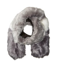 Hat Attack Faux Fur Scarf Greys Scarves Gray