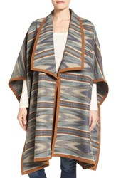 Pendleton Women's Rio Canyon Wool Blanket Wrap