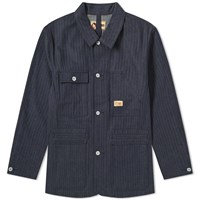 Nigel Cabourn X Lybro Work Jacket Blue