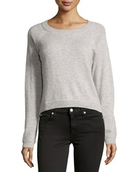 Christopher Fischer Cashmere Raglan High Low Sweater Sparkler