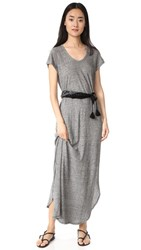 The Lady And The Sailor Maxi Dress Heather Grey