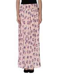 Patrizia Pepe Skirts Long Skirts Women Pink