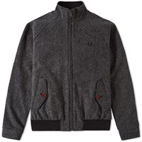 Fred Perry Herringbone Wool Blouson Grey
