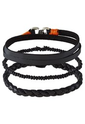 Icon Brand 3 Pack Bracelet Black