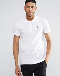 Adidas Originals Trefoil Polo Shirt Az0945 White