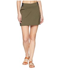 Outdoor Research Zendo Travel Skort Fatigue Green