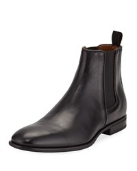 Aquatalia By Marvin K Adrian Leather Dress Chelsea Boots Black