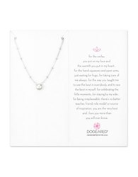 Dogeared Pearls Of 6Mm Button Cultured Freshwater Pearl And Sterling Silver Pendant Necklace