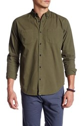 Ourcaste Kenmare Long Sleeve Shirt Green