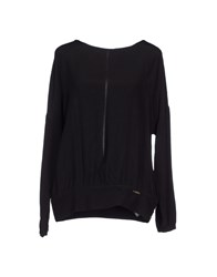 G.Sel Shirts Blouses Women Black