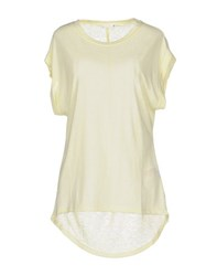 Supertrash Topwear T Shirts Women Yellow
