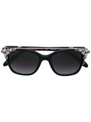 Carolina Herrera Embellished Sunglasses Black