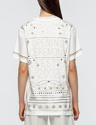 Opening Ceremony Studded Logo S S T Shirt
