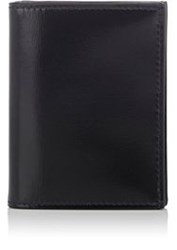 Thom Browne Men's Patent Leather Billfold Black