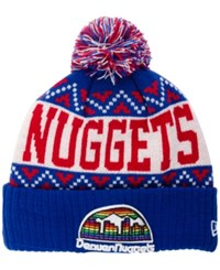 New Era Denver Nuggets Biggest Christmas Knit Hat