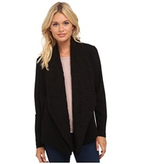 Kensie Ponte Jacket Ks8k2217 Black Women's Coat