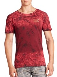 Robin's Jeans Roundneck Short Sleeve Tee Red