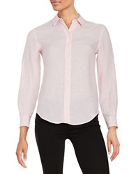 Lord And Taylor Petite Linen Blouse Fairy Tale