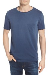 Ag Jeans Anders Slim Fit Pocket T Shirt Sun Faded Blue Plume