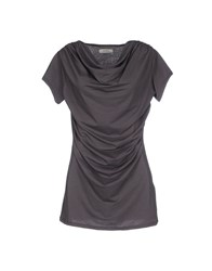 Alpha Studio Topwear T Shirts Women Dark Blue