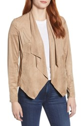 Kut From The Kloth Tayanita Faux Suede Jacket Khaki