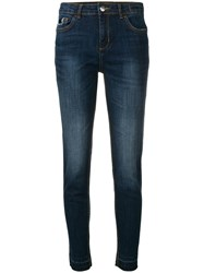 Twin Set My Twinset Collection Slim Fit Jeans Blue