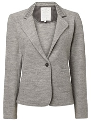 White Stuff Timepiece Wool Blazer Feather Grey