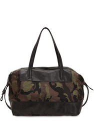 Campomaggi Camouflage Weekend Bag Multicolor