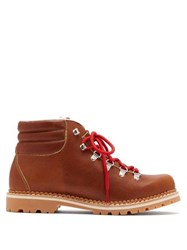 Montelliana Margherita Leather Boots Brown