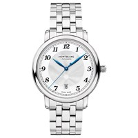 Montblanc 117323 'S Star Legacy Automatic Date Bracelet Strap Watch Silver