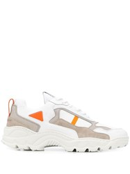 Filling Pieces Panelled Sneakers White