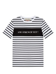 Etre Cecile Am I French Yet T Shirt Black