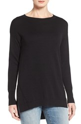 Caslonr Women's Caslon Zip Back High Low Tunic Sweater