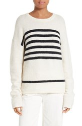 Frame Women's Stripe Boyfriend Sweater