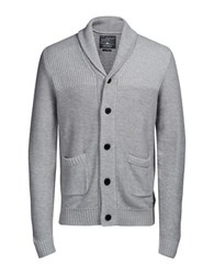 Jack And Jones Joranthon Knit Cardigan Light Grey