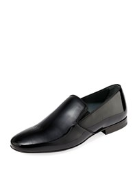 Lanvin Patent Leather Formal Loafers Black