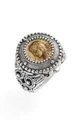 Women's Konstantino 'Arethusa' Hinged Coin Ring